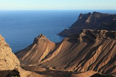 St. Helena Island-South of Atlantic Ocean where Napoleon died.