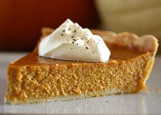 Silky Paleo Pumpkin pie is grain and dairy free, but SO delicious you'll never know the difference!