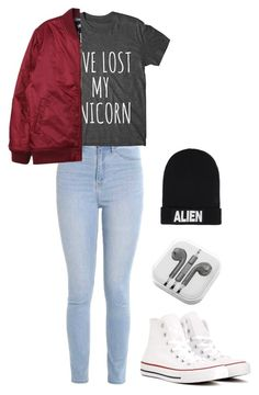 """April"" by claire-barfuss on Polyvore featuring mode, Hollister Co., Stussy, Converse, PhunkeeTree et Nicopanda"