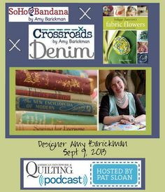 American Patchwork & Quilting Podcast hosted by Pat Sloan