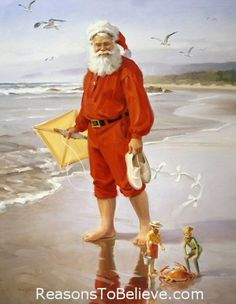 Shore is Fun With Santa and the Elves!  ~Tom Browning