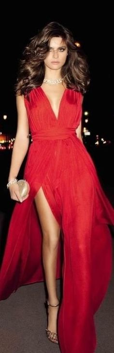 A glamorous life...Red Dress for Brave Hearts