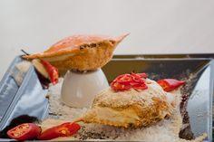 Casquinha de siri a�oriana (santa catarina) Milanesa, Camembert Cheese, Seafood, French Toast, Pudding, Breakfast, Desserts, Internet, Coconut Sauce