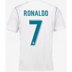 Maillot Real Madrid Enfant RONALDO 2017/2018 Domicile Officiel. Flocages Personnalisés Disponibles.