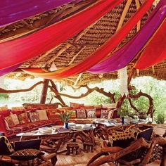 I'd love to sit and relax in a place like this  http://andweareyoungandfree.tumblr.com/