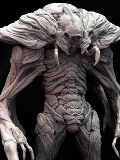 Could be an amazing alien or a Neenderthal version of the Predator ?
