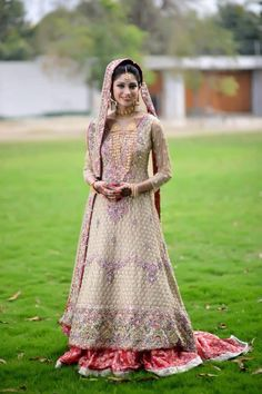 Pakistani Bride   Outfit by Ali Xeeshan