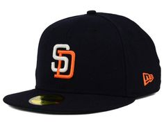 San Diego Padres New Era MLB Cooperstown 59FIFTY Cap Hats