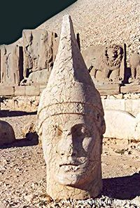The first god in Armenia was one of the language's first sounds, 'AR', which means sun or light. As the source of life, the sun became equated with power and the supreme god. Ararat is mentioned as early as ca. 6000 BC in the Sumerian epoch poem Gilgamesh, as the land of the mountains where the gods live...