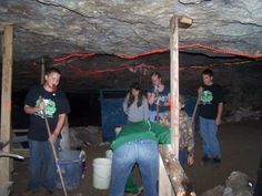 The Cave doesn't clean itself.There are Boy Scouts Halloween Attractions, Houses In America, Real Haunted Houses, World Records, Boy Scouts, Cave, Ohio, Scouting, Columbus Ohio