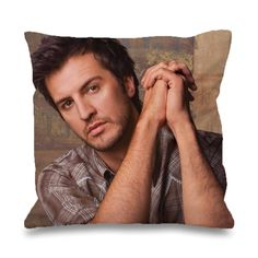 "Luke Bryan Country Music Pillowcases Pillow Cases This pillow cover made from high quality drapery weight 50% cotton fabric and 50% Polyester with hidden zipper closure. All seams are surged to prevent fraying for long time of wear.This cover is made about 1"" smaller in all dimensions to provide a full and luxurious feel for the pillow. Also i have 3 variant size.Available only Two side print, it is mean the booths side will have patternThe pillow inside is ""NOT"" included in this listing…"