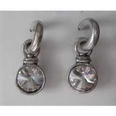 Round Chunky Dangle Earrings for Jewelry Design, Designer Jewellery, Dangle Earrings, Dangles, Chandelier Earrings