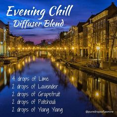 Diffuser Blend - Evening Chill - Lime, Lavender, Grapefruit, Patchouli & Ylang Ylang Beautiful way to help unwind in the evening Patchouli Essential Oil, Essential Oil Diffuser Blends, Doterra Oils, Doterra Essential Oils, Doterra Diffuser, Cedarwood Essential Oil, Yl Oils, Spa, Oil Benefits