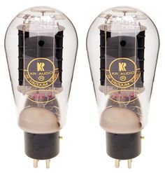 As with the traditional 300B, the KR Audio 300B HP Balloon tube adds that classic look of old with the modern sound of new. This latest High Performance (HP) version has been tweaked to offer unpreced