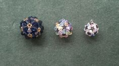 Beading4perfectionists : Beaded ball workshop pendant for advanced beaders beading tutorial, via YouTube.