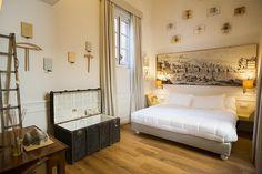 Visita guiada por SoprArno Una habitación inspirada en las mejores joyas literarias.