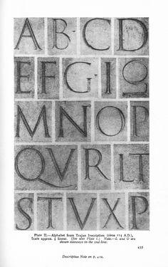 Montaje. Trajan's Columns | Typophile
