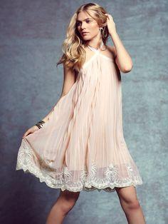 embellished pleated dress - so pretty