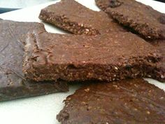 Rawk Out: Raw Chia Oat Energy Bars