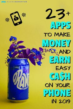 Are you looking for some great money making ideas to earn extra cash in your spare time? That phone you always have in your pocket or purse can help you thanks to a number of free and easy to use apps! Here are 23 of the best money making apps for 2019 to Earn More Money, Make Money Fast, Make Money From Home, Best Money Making Apps, Managing Your Money, Money Tips, Money Saving Tips, Cash Money, Earn Extra Cash
