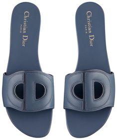 Dior Sandals, Flat Sandals, Leather Sandals, Shoes Sandals, Comfortable Mens Dress Shoes, Denim Slides, Dr Shoes, Designer Shoes, Luxury Designer