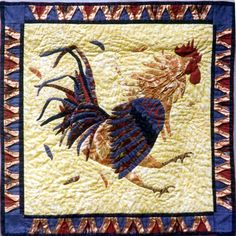 .chicken quilt