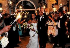 Sparklers are so much fun!