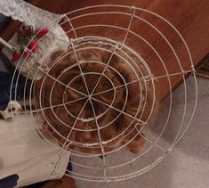 Beauty From Ashes: Wire Frame Hat How To...Part 4