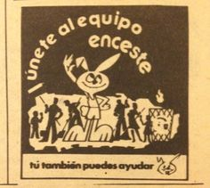 """Every kid in Puerto Rico who grew in the 70s and 80s remember this bunny.. With his famous slogan """"Encestalo"""", promoting to keep the streets clean and throw garbage in the trash cans..."""