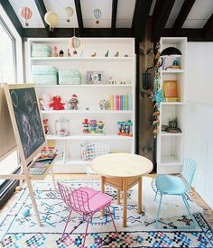 The perfect playroom decor for budding aesthetes