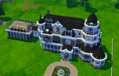 Welcome to the progress thread for my massive Victorian era build inspired by the magic and mysticism of Realm of Magic. Lotes The Sims 4, Sims 3, Winchester Mystery House, Magic House, Casas The Sims 4, Sims Building, Charity Organizations, Sims 4 Build, Sims 4 Houses