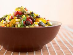 Black Bean Salad http://www.prevention.com/food/healthy-eating-tips/12-power-salads-that-wont-leave-you-hungry/black-bean-salad