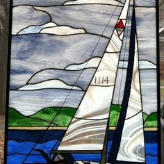 Sailboat Panel by Monique Hunter