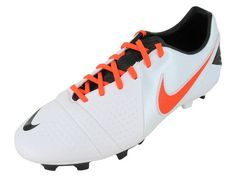 Nike Men's CTR360 Libretto III FG White/Red/Black Soccer Cleats 525170 180 #Soccer #Cleats #Worldcup