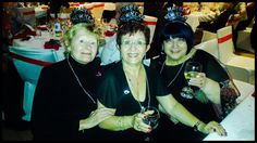 Susan, Candy & Vickie always happy & this time on New Years Eve 2914