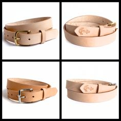 Cyril Leather and Such full grain leather belts. Made by sore hands with old tools. One at a time. One of a kind.
