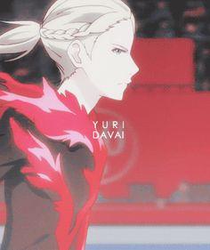 anime - yuri on ice - yoi - yuri plisetsky - gif