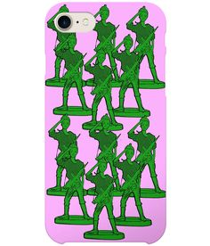 Perfect gift for that soldier in your life!Doll morphed into an army of toy soldiers! Military Salute, Gun Humor, Female Soldier, Toy Soldiers, Female Art, Pop Art, Haha, Barbie, Iphone Cases