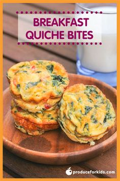 Breakfast Quiche Bites
