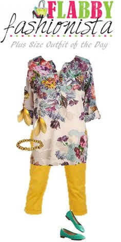 Plus Size Outfit of the Day – In Love with Florals