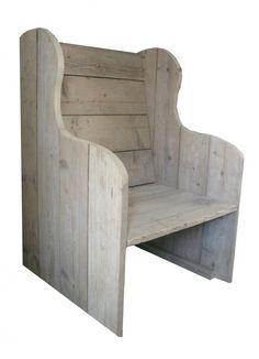 Steigerhout fauteuil   Meubels   Huis & Grietje