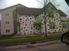 poka dot house. I just don't know what else to say!