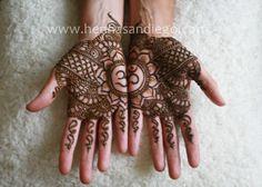 Henna Design for Birthday