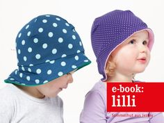 Nähanleitungen Kind - E-BOOK ★ LILLI ★ Sommerhut aus Jersey - ein Designerstück von fritzi-selbermacher bei DaWanda