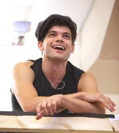 Oh, but the smile. Jeremy Jordan