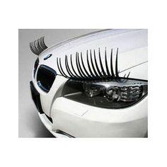 Pair of Cute Curly Universal 3D Car Headlight Eyelashes Accessory Vinyl Sticker Toyota RAV4 GT86 Camry Prius Aqua Yaris Auris Corolla - http://www.carhits.com/pair-of-cute-curly-universal-3d-car-headlight-eyelashes-accessory-vinyl-sticker-toyota-rav4-gt86-camry-prius-aqua-yaris-auris-corolla/
