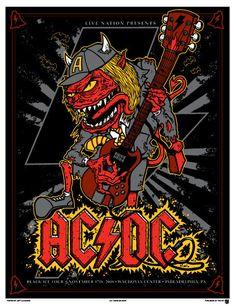 Posters Rock/Pop: Recitales de Bandas [PhilaArts] - Taringa!