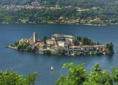 The most romantic lake of Italy - Lake Orta.