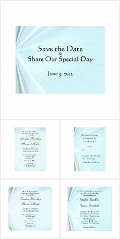 Baby Blue Satin Wedd