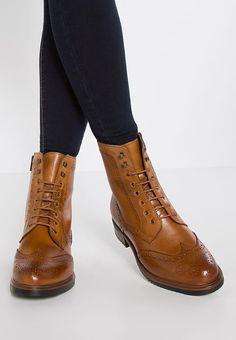 1076f6b1f305ee Schnürstiefelette - cognac   Zalando.de 🛒. Schuhe Online KaufenDamenschuheCognacbraune  Stiefel ...
